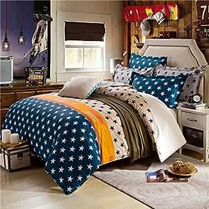 2015 Dropshipping de qualité pour mariage Parure de lit double Housse de couette American Style reine pour lit Jeux