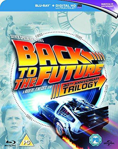 Back To The Future - Trilogy [Edizione: Regno Unito] [Reino Unido] [Blu-ray]