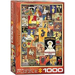 Eurographics 6000-0769 - Puzzle (1000 Piezas), diseño Vintage de pósteres
