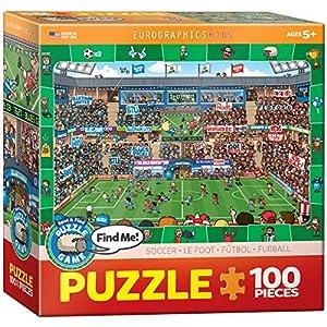 Eurographics - Puzzle con Marco, 100 Piezas (EG61000476)