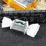 Lustige Apotheke Geschenkset Mustache Schnurrbart - Duschgel und handgefertigter Seife - zur Männerpflege -