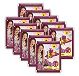 Panini - Disney Soy Luna - Sammel-Sticker - 10 Booster Tüten - 50 Sticker