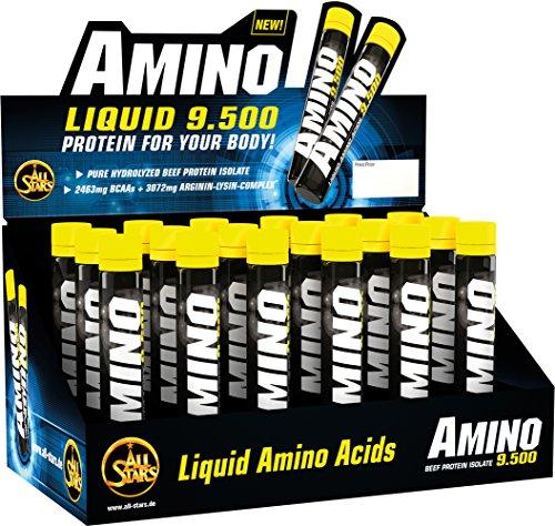 All Stars Amino 9500 Liquid -18 x 25 ml Fläschchen, Schwarze Johannisbeere, 1er pack (1x18x25 ml)
