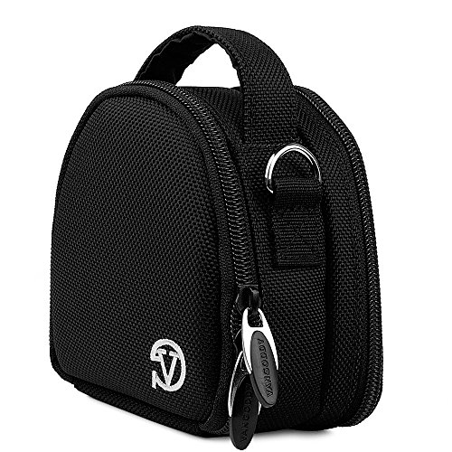 Vangoddy Point - And - Shoot Camera Carrying Case - Sony Cyber - Shot W800 W810 W830 Dsc Rx100 Rx100M Dscwx350 X80 X500 X220 X100M2 Rx1 Tx9 Tx30 Dsc - Tx20 (PT_CAMLEA042_SonyCPMini)  available at amazon for Rs.1443