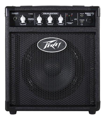 Peavey Max 158 Amplificador para guitarra/bajo eléctrico Negro