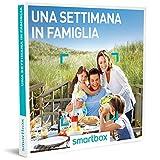smartbox Cofanetto Regalo- Una Settimana di Vacanza in Famiglia - 137 soggiorni per la Famiglia in Hotel 3* e 4* o accoglienti agriturismi
