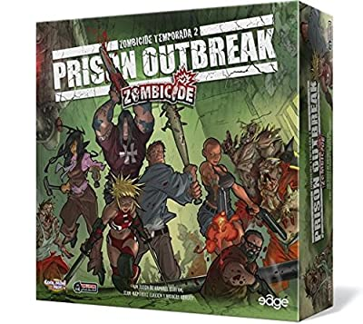 Edge Entertainment – Zombicide Saison 2?: prison Outbreak (edgzc03)
