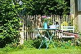 Französischer Staketenzaun Kastanie - Länge 5 Meter, Höhen 80 cm - 120 cm, Lattenabstände 4-5 cm und 6-7 (Länge x Höhe: 500 x 80 cm, Lattenabstand: 4-5 cm)