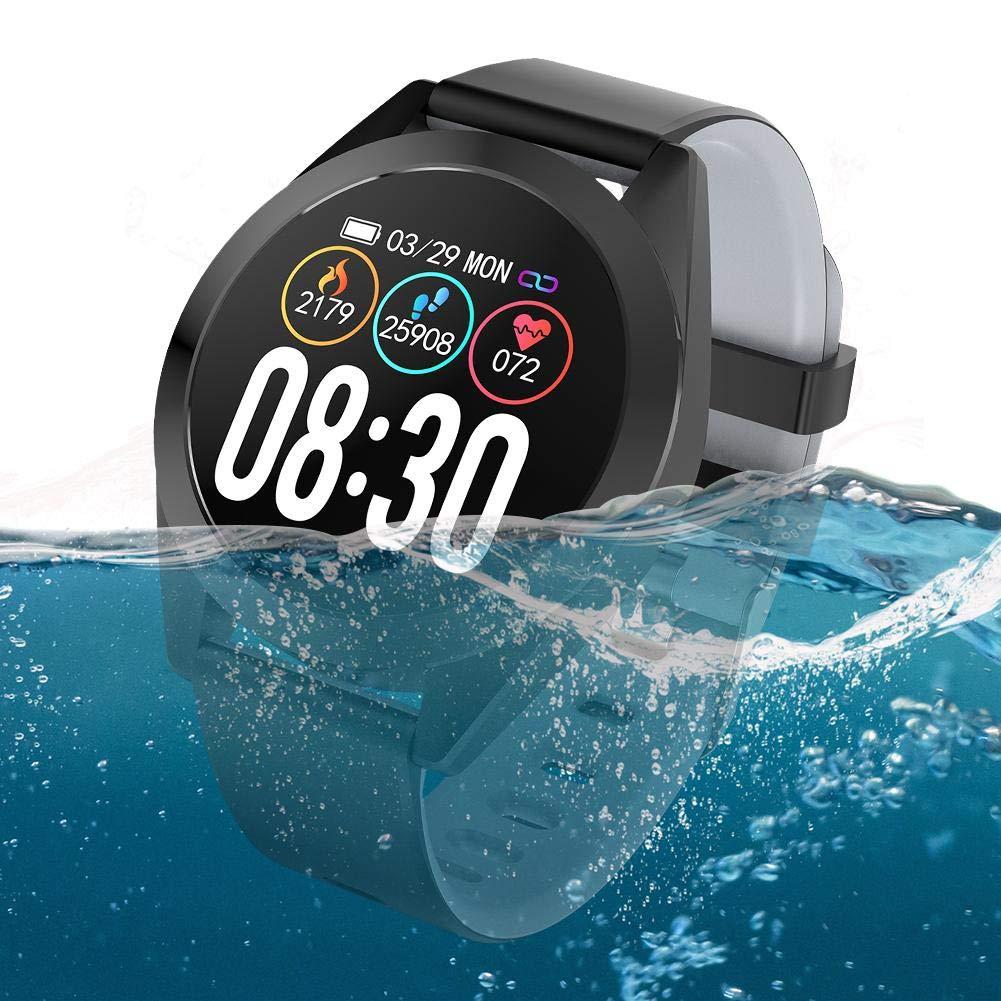 CARTEY Pulsera inteligente G50S Heart Fitness Tracker Monitoreo del corazón Paso Sueño Tasa de salud Presión arterial… 1