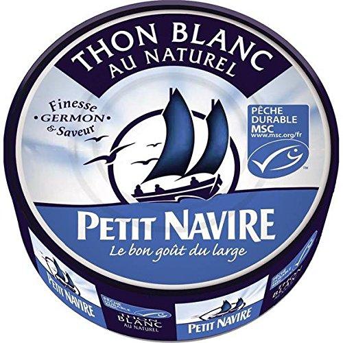 Petit navire thon blanc naturel msc 1/5 112g - ( Prix Unitaire ) - Envoi Rapide Et Soignée