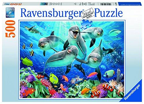 Preisvergleich Produktbild Ravensburger 14710 - Delfine im Korallenriff