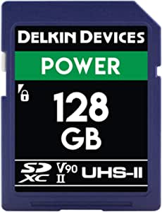 Delkin Devices X 2000 Power 128 Gb Sdxc Uhs Ii U3 Computers Accessories