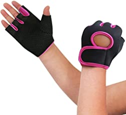 Gym Weightlifting Exercise Half Finger Sport Cycling Fitness Gloves for Men & Woman