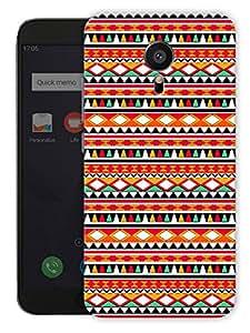 "Humor Gang Ethnic Tribal Aztec Print Printed Designer Mobile Back Cover For ""Meizu Mx5"" (3D, Matte Finish, Premium Quality, Protective Snap On Slim Hard Phone Case, Multi Color)"