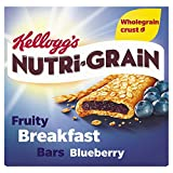 Kellogg's Nutri-Grain Fruity Breakfast Bars Blueberry, 6 x 37g Bars