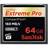 SanDisk 64GB Extreme PRO Compact Flash Memory Card (SDCFXPS-064G-X46)