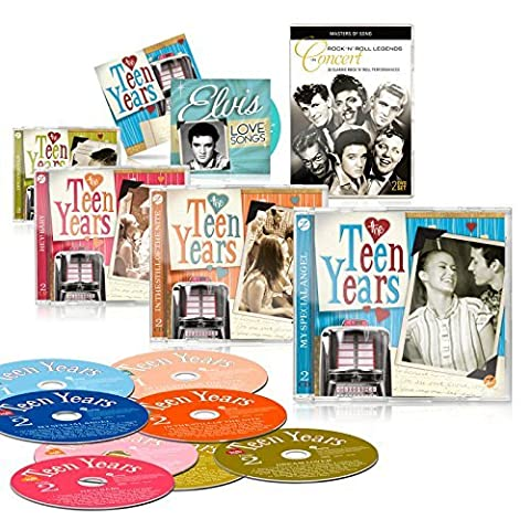 The Teen Years 8 CD Set by Zestify - As
