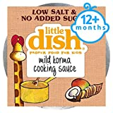 Little Dish Cooking Sauce Mild Korma 80G 12Mth+