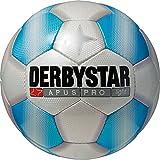 Derbystar Fußball Apus Pro Light, Kinder Trainingsball, Ball Größe 5 (350 g), weiß blau, 1718