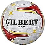 GILBERT MATCH BLAZE NETBALL Size 5