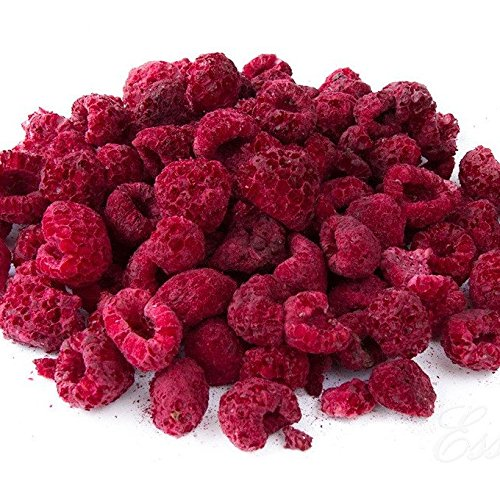 Freeze Dried Whole Raspberries (200g). Great for Baking and Decorating Cakes