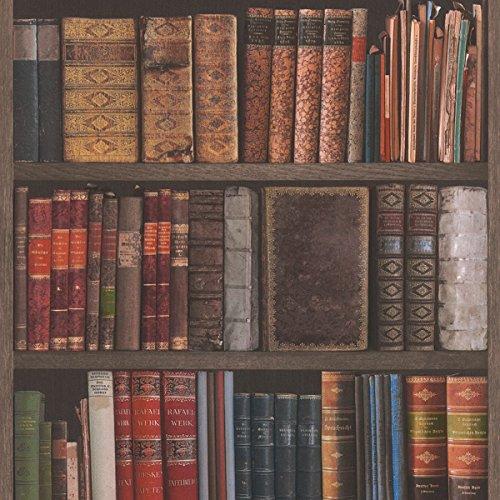 Rasch Bibliothek Bücher Tapete–934809