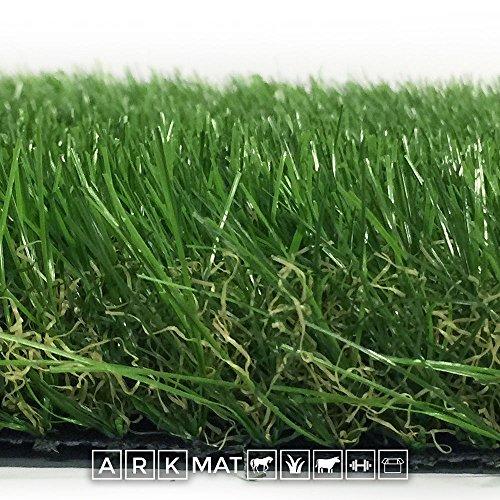 ARKMat Regal Erba Sintetica Altezza 4 cm Misura 4 x 3 Metri Doppio Colore Effetto Reale Drenante e Resistente Raggi UV