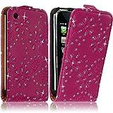Seluxion - Housse coque Etui Diamant pour Apple Iphone 3G / 3GS couleur Rose