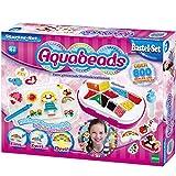 Aquabeads Starter-Set mit 800 Perlen in 12 unterschiedlichen Farben: Vorlagen Perlen Stift Sprüher Aqua Beads