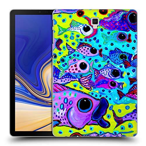 Head Case Designs Offizielle Mad Dog Art Gallery Fisch-Test Meer Ruckseite Hülle für Samsung Galaxy Tab S4 10.5 (2018)