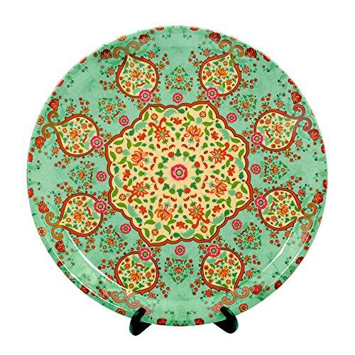 Kolorobia Ornate Mughal Decorative Plate 7.5 inches