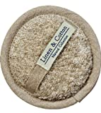 Linen & Cotton Luxus Exfoliating Pad Scrubber Bath Body Massage