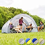 TecTake 800588 XXL Camping Tunnel Tent with Foyer 4-6 persons 11