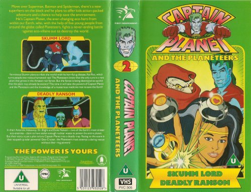 captain-planet-planeteers-2-vhs