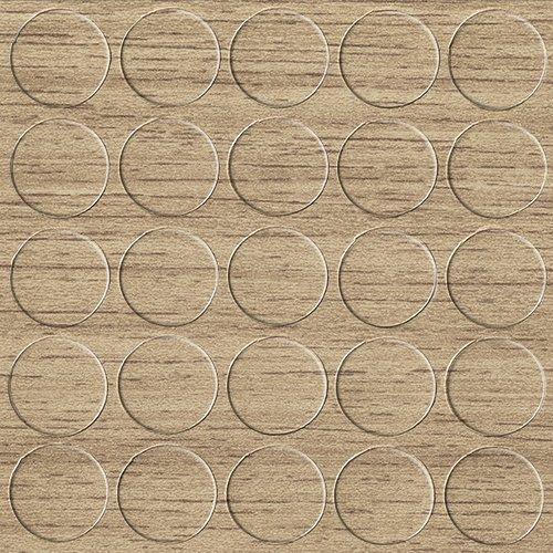 GleitGut Selbstklebende Abdeckkappen für Möbel - Durchmesser 14 mm - 25 Stück - Schrauben-Abdeckungen (Hamilton-Eiche-Natur) (Hamilton Abdeckung)