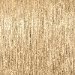 Extensiones de Cabello Natural Clip - Pelo Humano 100% Remy - Doble Weft - 8 Piezas 18 Clips(#24 Rubio Natural 25cm-110g)