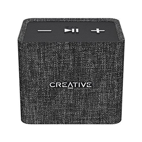 Creative Nuno Micro Bluetooth Wireless Speaker - Black (51MF8265AA000)