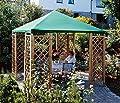 Dachplane 3 x 3 m für Pavillon Pia, Farbe: blau, Ersatzdach, Pavillondach von SAUERLAND auf Gartenmöbel von Du und Dein Garten