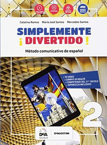 ¡Simplemente divertido! Libro del alumno y cuaderno. Per la Scuola media. Con audio formato MP3. Con e-book. Con espansione online. Con Libro: En mapas. Con DVD-ROM: 2