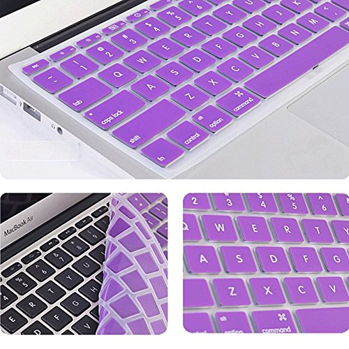 Crystal Guard Tpu Soft Silicone Keyboard Case Cover Protector For Apple Macbook Air 11.6'