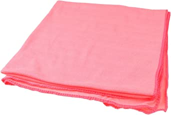 Imported Microfiber Towel Sports Bath Quick Dry Travel Swim Beach Drying - Rose Red
