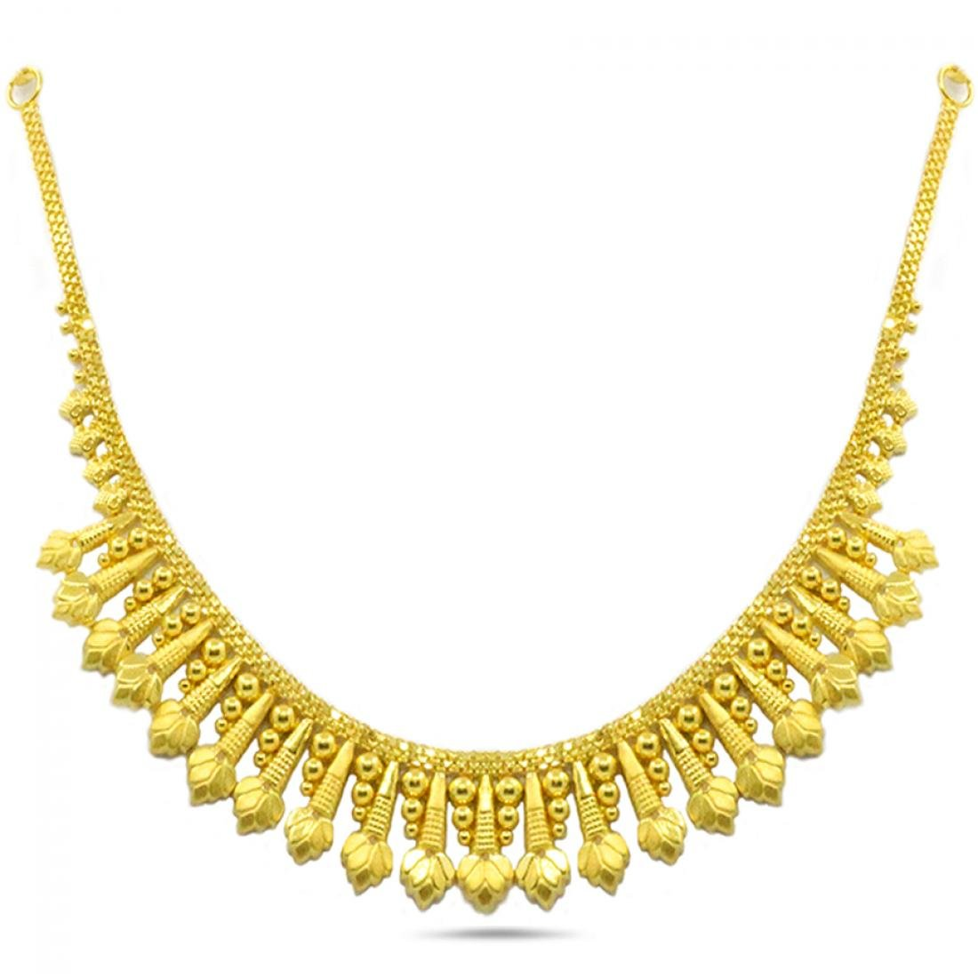 Candere By Kalyan Jewellers 22KT Yellow Gold Necklace for Women