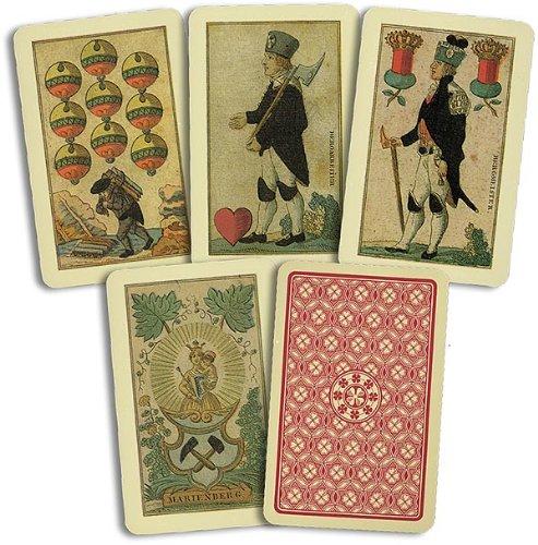 Unbekannt Kartenspiele, Skat, Bergmannskarte deutsch von Rupert Höll