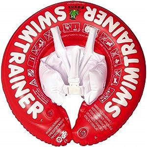 Desconocido Fred's Swim Academy - Flotador de aprendizaje de natación para niños, color rojo