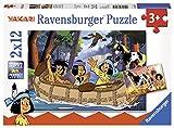 Ravensburger 07607–yakaris, Avventura, Puzzle 2X 12pezzi