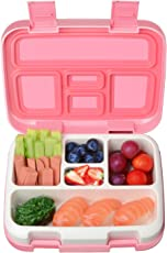 Abree Kinder Lunchbox, Bento Box Kids, Brotdose mit 5 Unterteilungen,