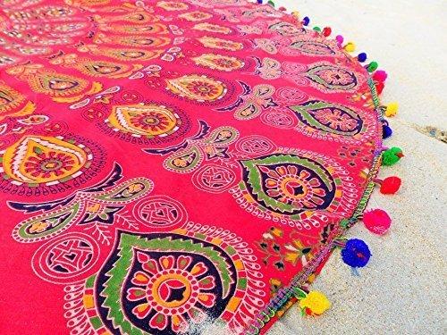 nandnandini-textile-schone-mehrfarbige-strand-werfen-roud-tapisserie-indische-mandala-round-roundie-
