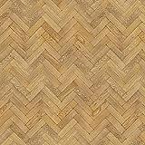 MyTinyWorld Packung mit 5 Stück Puppenhaus Parkett Fußboden 9 Zoll Honig Farbe Oak Streifen Effekt Laken