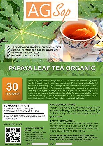 AG Sop Papaya foglie di tè organico
