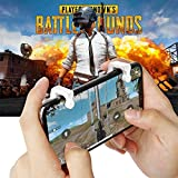 #1: Ocamo Gaming Trigger Fire Button Aim Key Smart Phone Mobile Games L1R1 Shooter Controller for PUBG/Rules of Survival/Knives Out